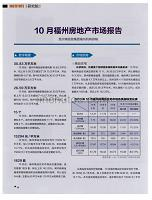 10月福州房地产市场报告