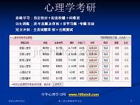 北京大学实验心理学课件PPT版 第三章 心理物理学方法