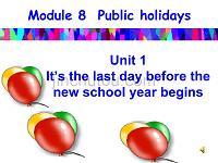 八年级英语下课件Module8Unit2课件