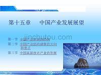 产业经济学中国产业发展