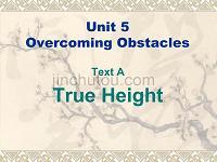 unit5 True Height