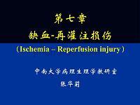 中南大学-病理生理学--缺血-再灌注损伤