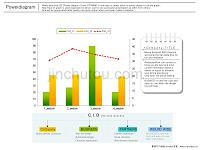 [商务科技]韩国清新设计_图表模板38张-各种柱状图_饼状图_分析图_数据透析