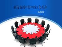 商务谈判中的中西文化差异