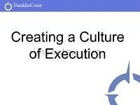 企业如何执行结果导向的执行文化(英文)