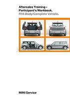 宝马_R55车身及整车售后服务学员工作培训英文版手册