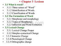 语言学教程+Chapter+Three(免费下载)