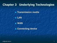 【计算机】chapter 3 underlying technologies