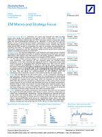 德银-全球-投资策略-新兴市场宏观与策略聚焦