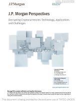 J.P.摩根-解密加密货币展望:技术,应用和挑战